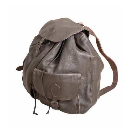 Batoh kožený - střední